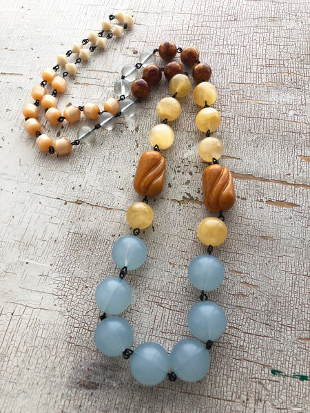 butterscotch blue necklace