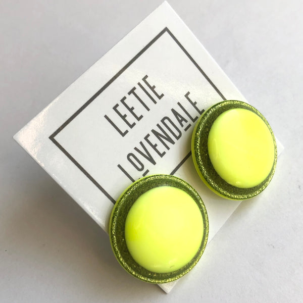 fluorescent earrings