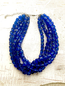 capri blue necklace