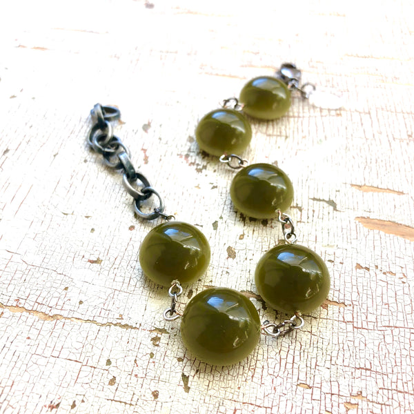 green moonglow bracelet
