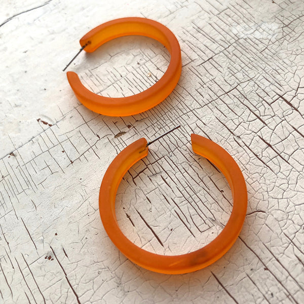 orange classic hoops