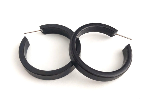 large black hoops