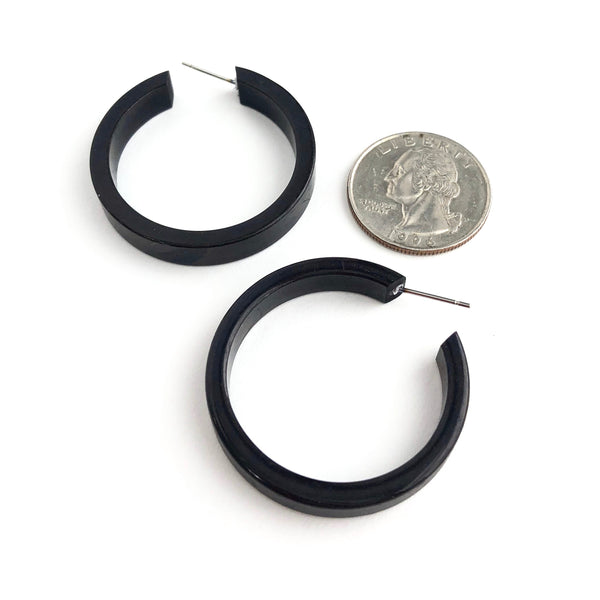leetie black earrings