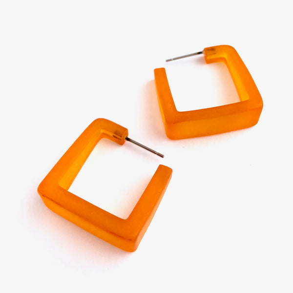 square orange hoops
