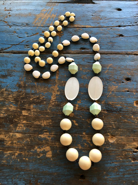 long ivory necklace