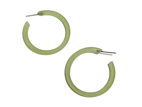 thin green hoops