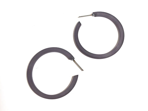 grey thin hoops