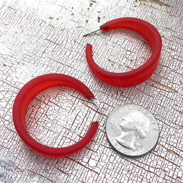 large red hoops