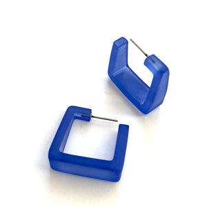 blue square hoops