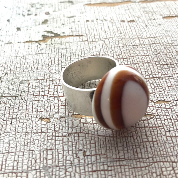 adjustable tortoise ring