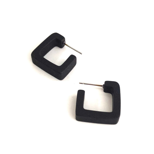 black square hoops