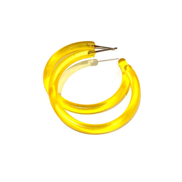 big yellow hoops