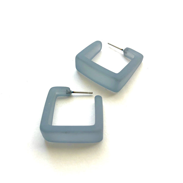 teal blue hoops square