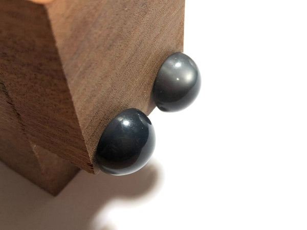 dark gray earrings