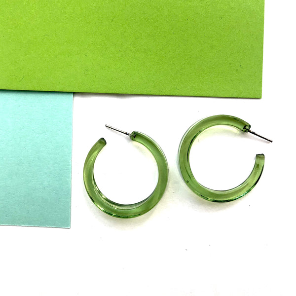 bright green lola hoops