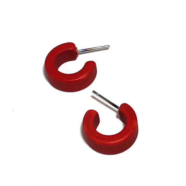 red mini hoops
