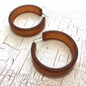 big brown hoops