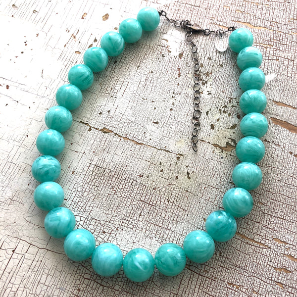 clear turquoise jewelry