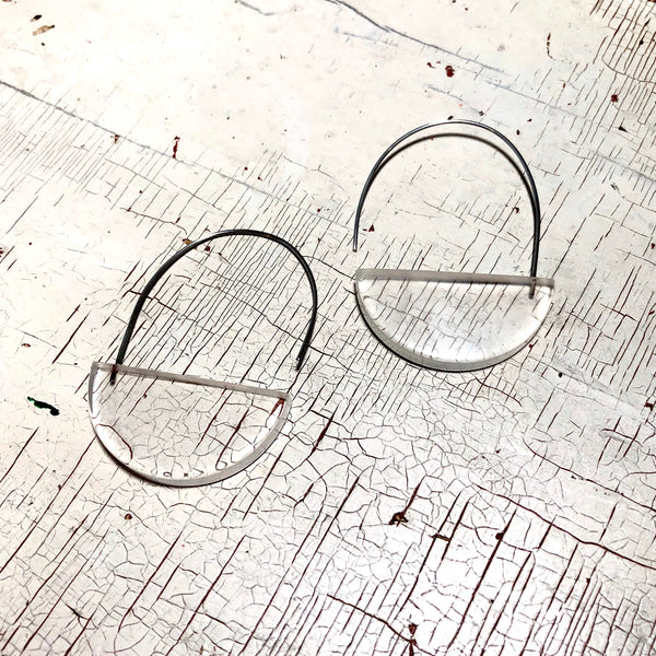 clear modern basket hoops