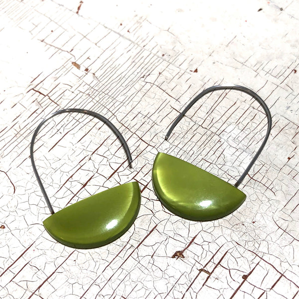 moonglow lucite basket earrings