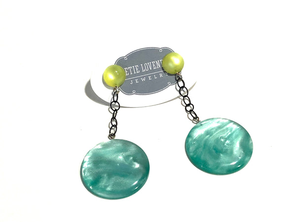 tiffany blue earrings