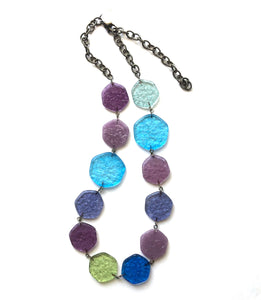 Seaside 'Stained Glass' Shortie Necklace