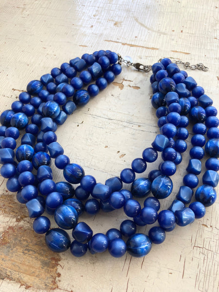 rare blue necklace