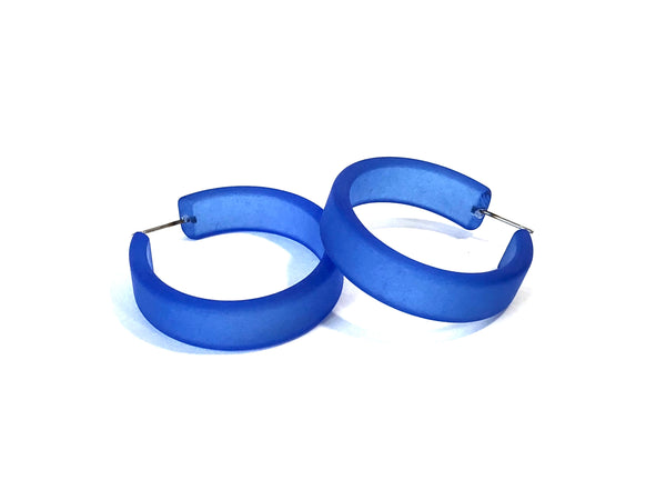 big blue frosted hoops