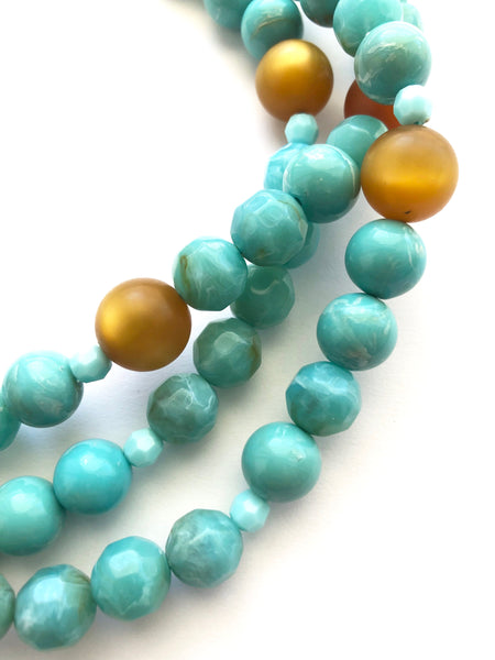 vintage beads lucite