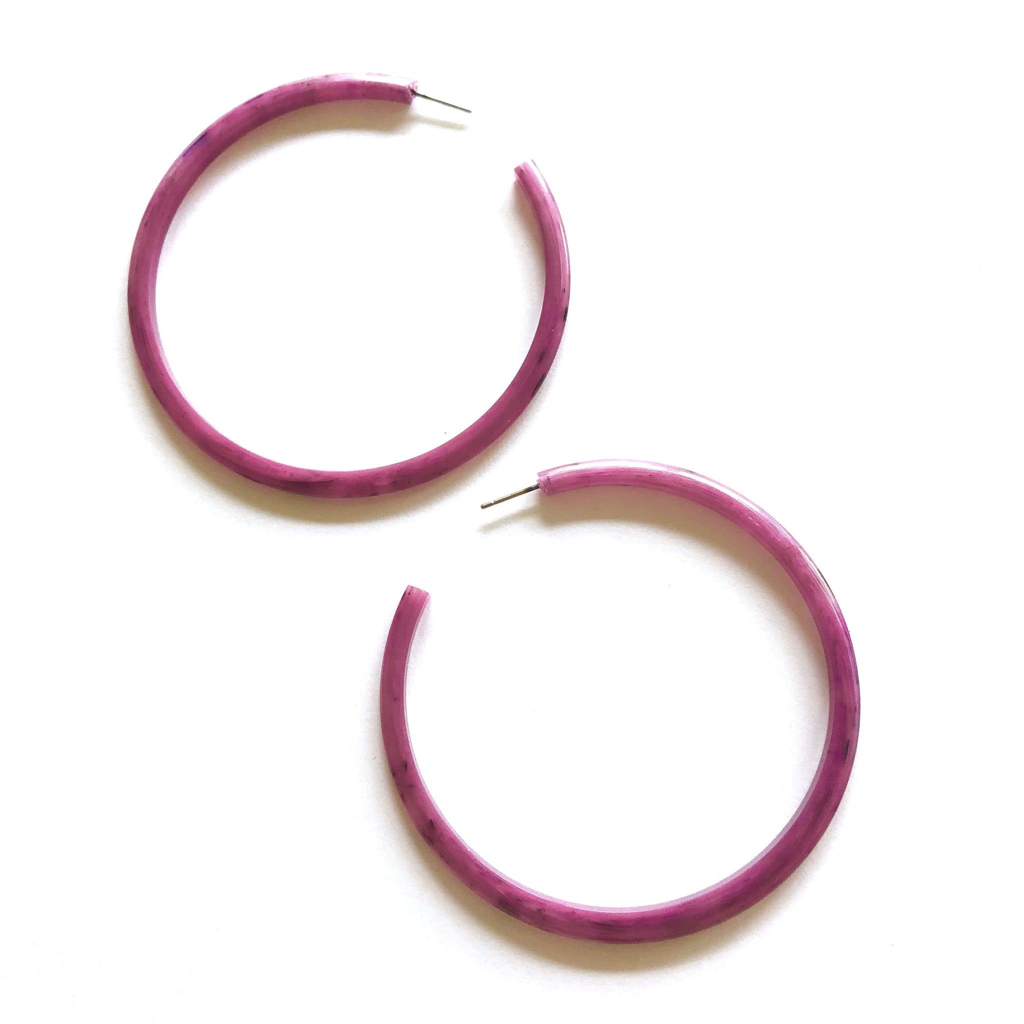 marbled magenta hoops