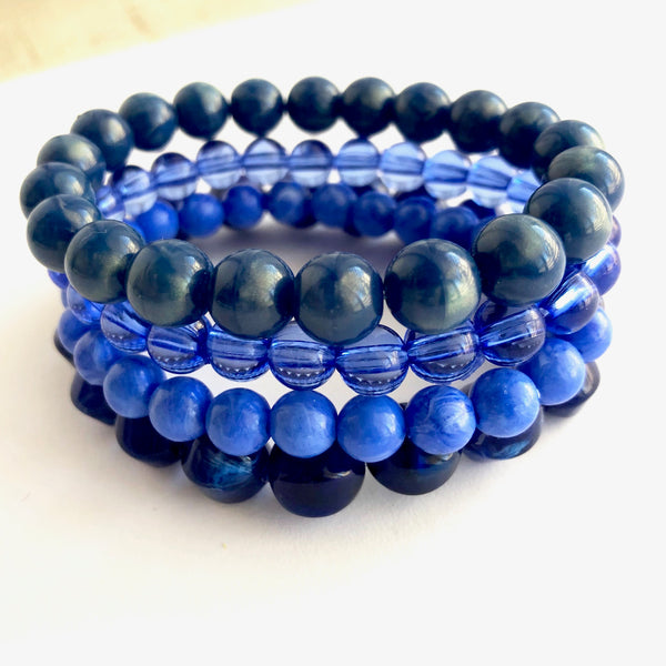 cobalt blues bracelets