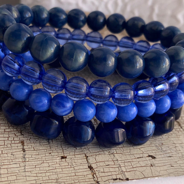 royal blue bracelets