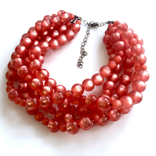 coral sylvie necklace