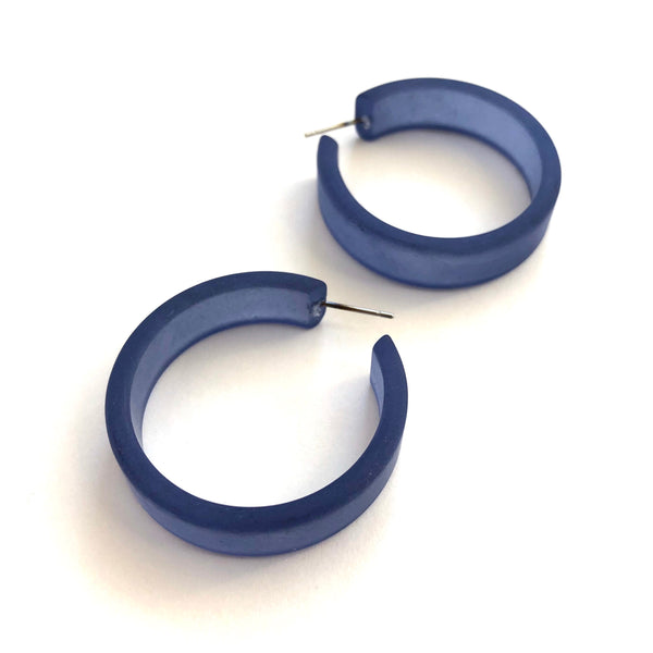 large portland blue hoops
