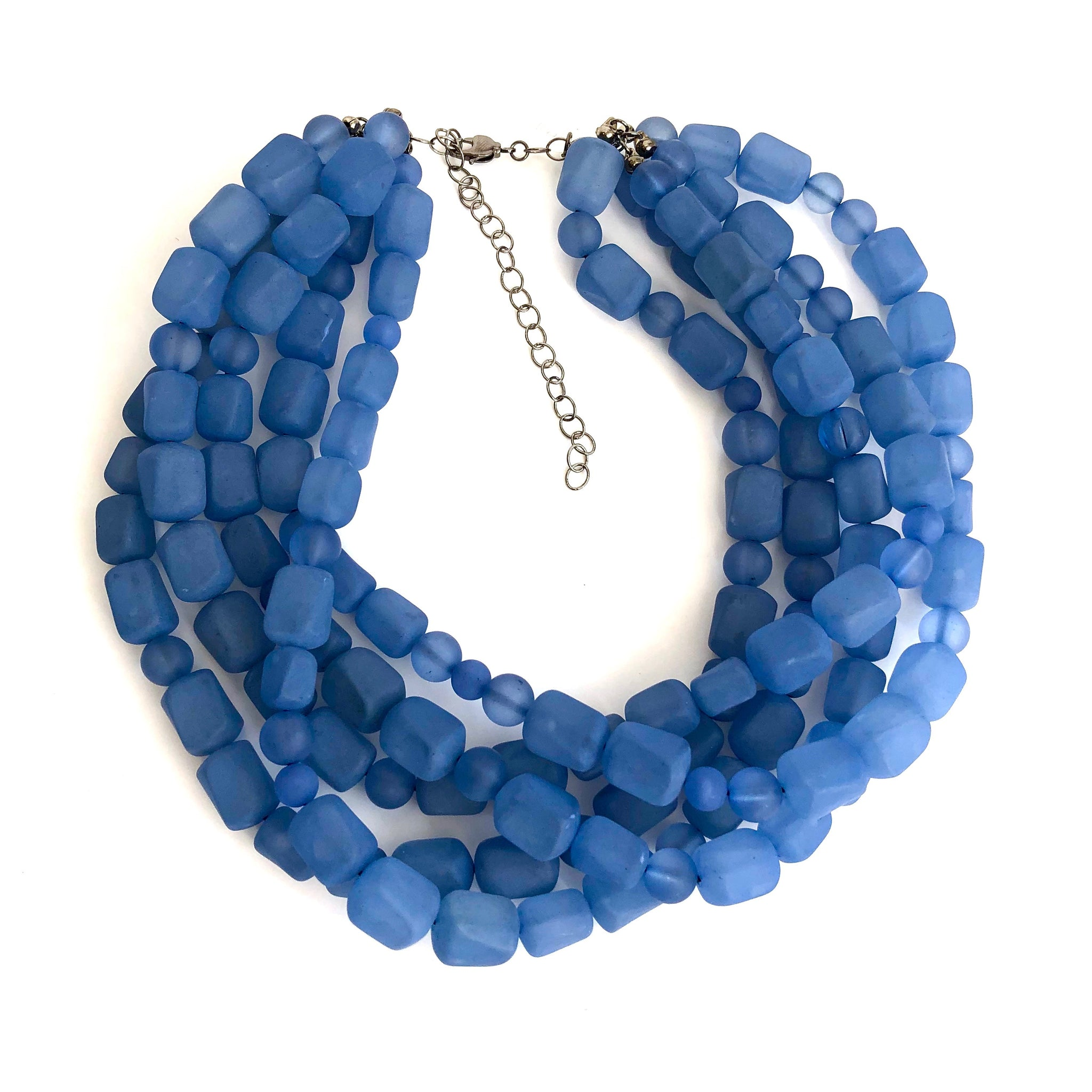 denim blue sylvie necklace