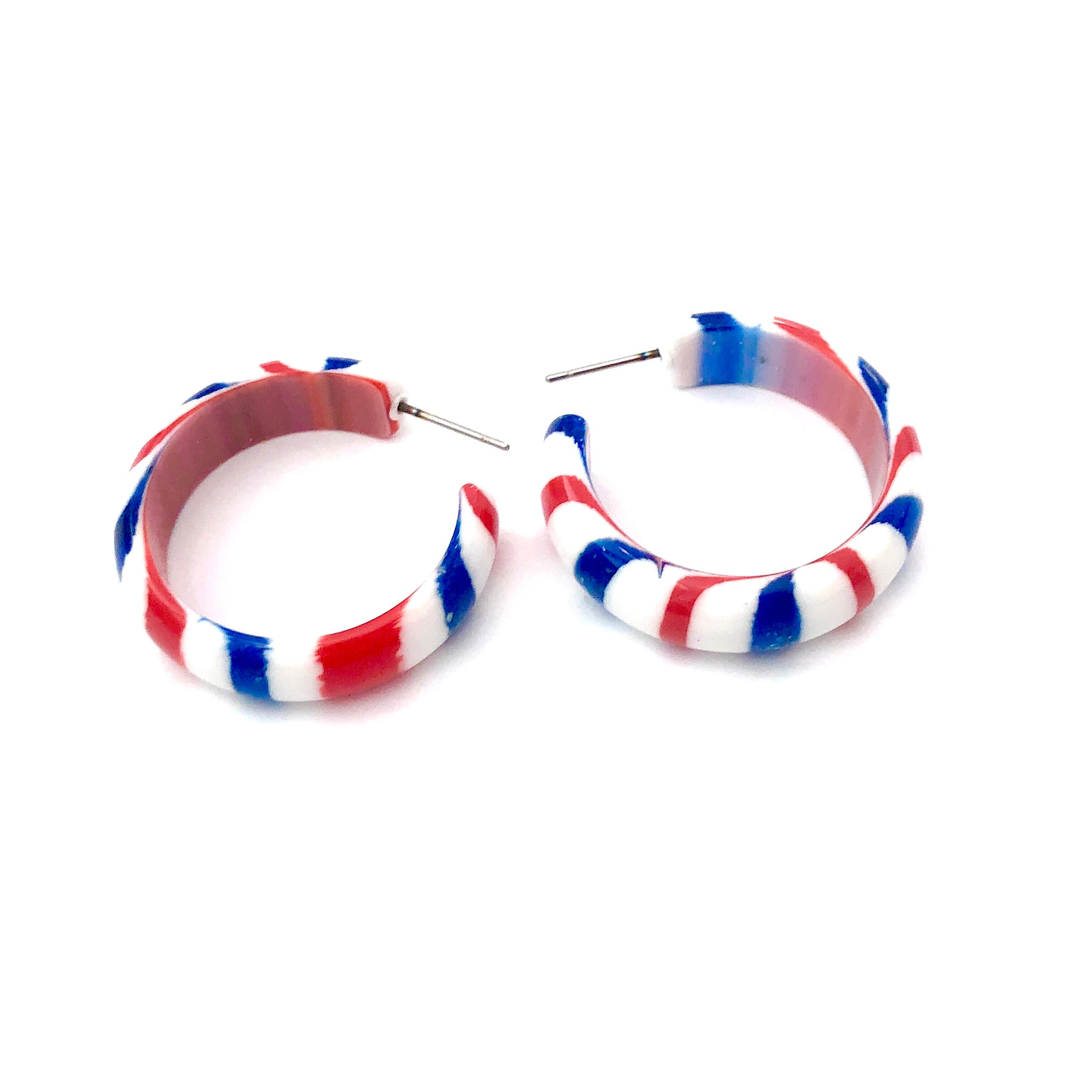 patriotic simple hoops