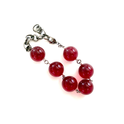 ruby red bubble