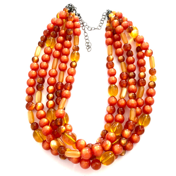 fall jewelry lucite
