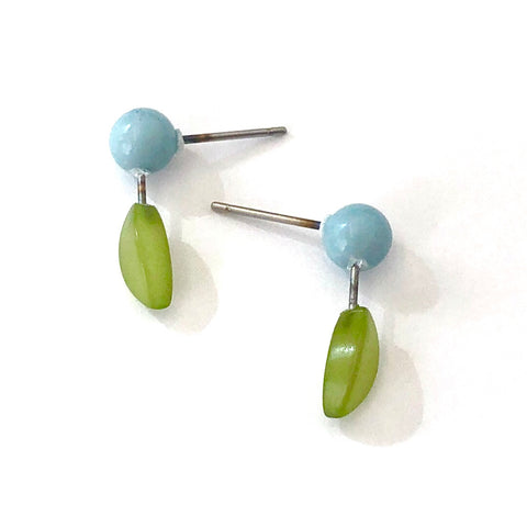 Blueberry Bud Stud Earrings