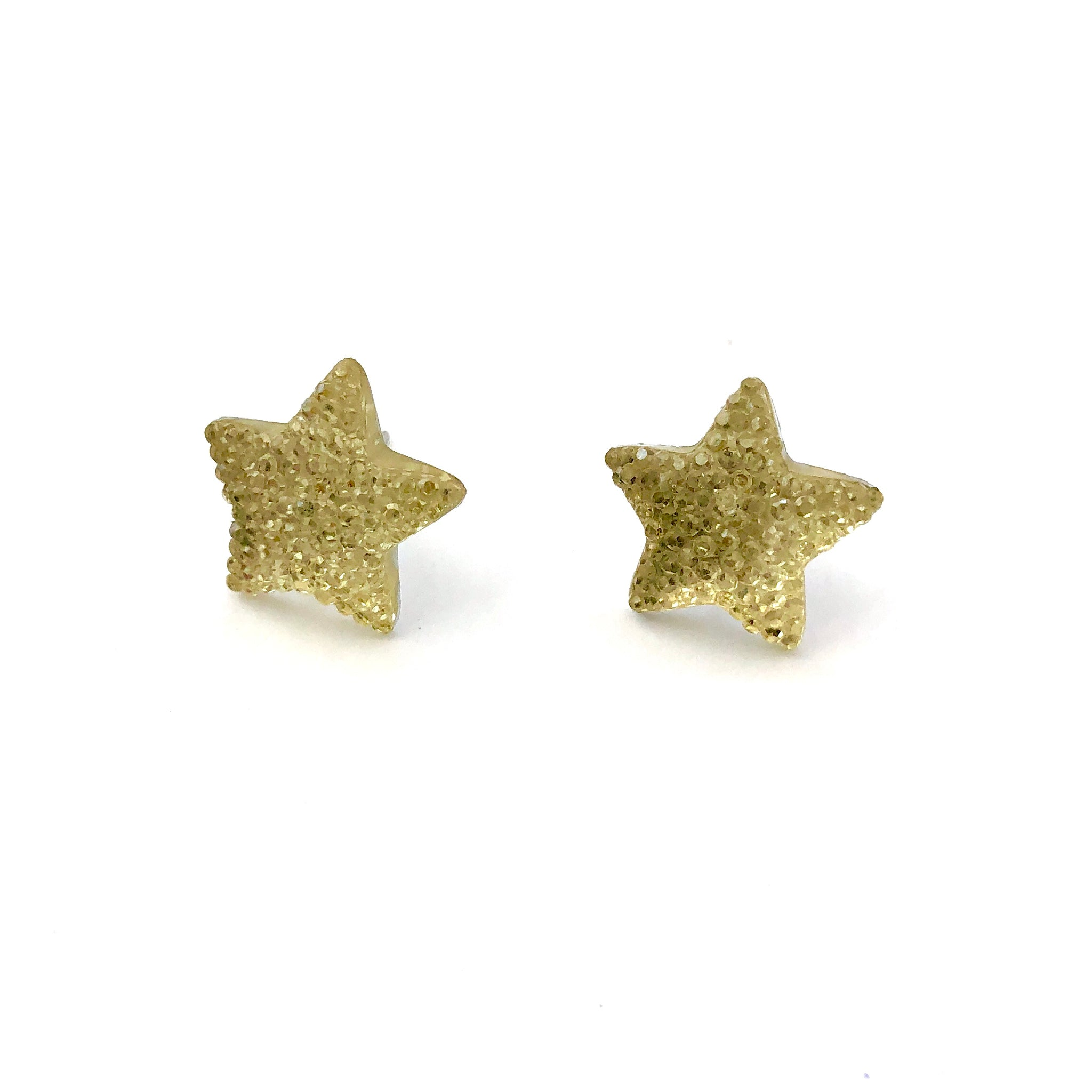 star vintage earings