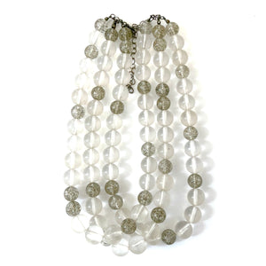 morgan lucite necklace