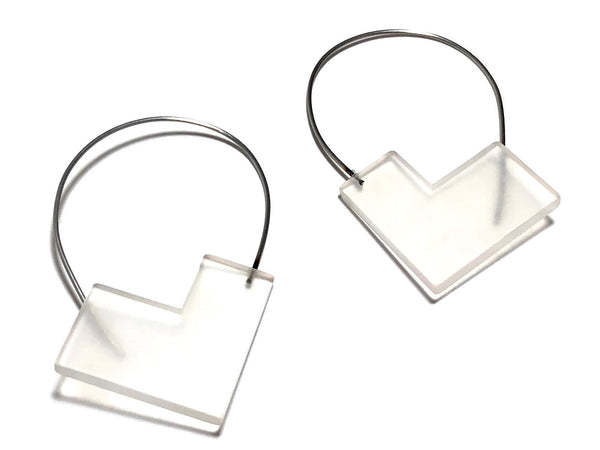 modern gallery earrings