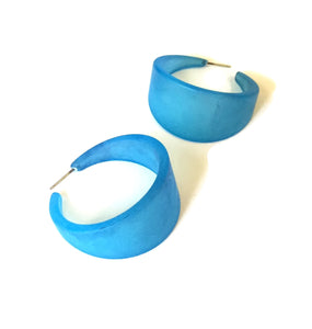 aqua blue bettie earrings