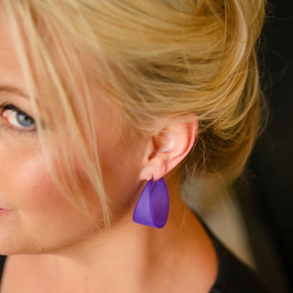 cobalt blue hoops