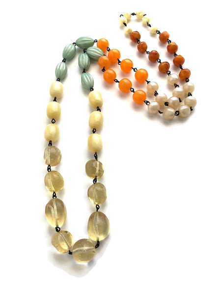 citrus colors necklace