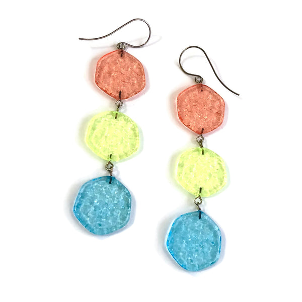 citrus statement earrings
