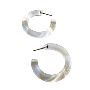 clear glass hoops