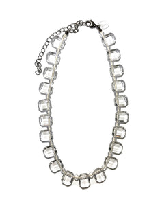 crystal marco necklace