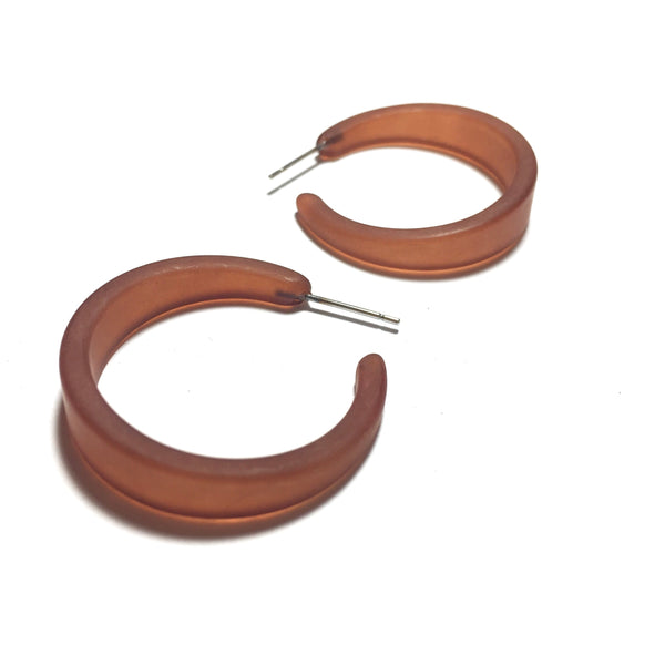brown frosted lola hoops