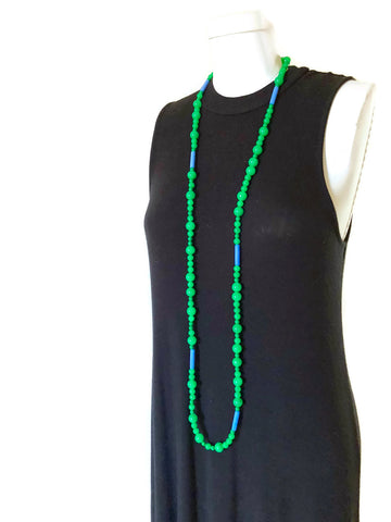 green wrap necklace